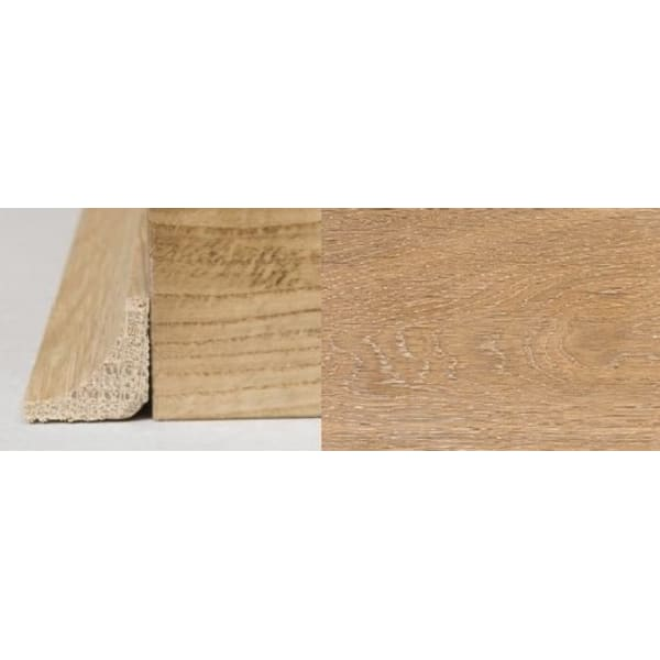 White Wash Stained Oak Solid Hardwood Scotia 2.4m for Flooring