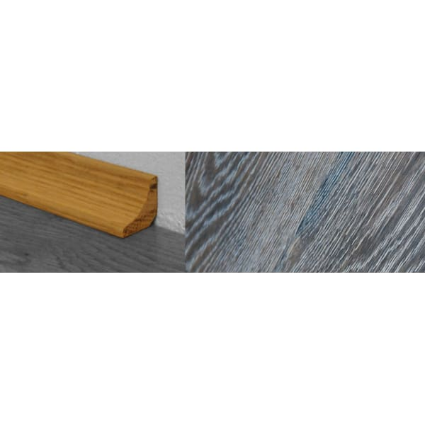 Grey Wharf Stained Solid Hardwood Oak Scotia 2.7m for Flooring