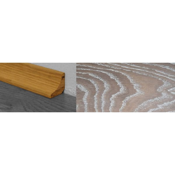 Nordic Beech Stained Solid Hardwood Oak Scotia 2.7m for Flooring