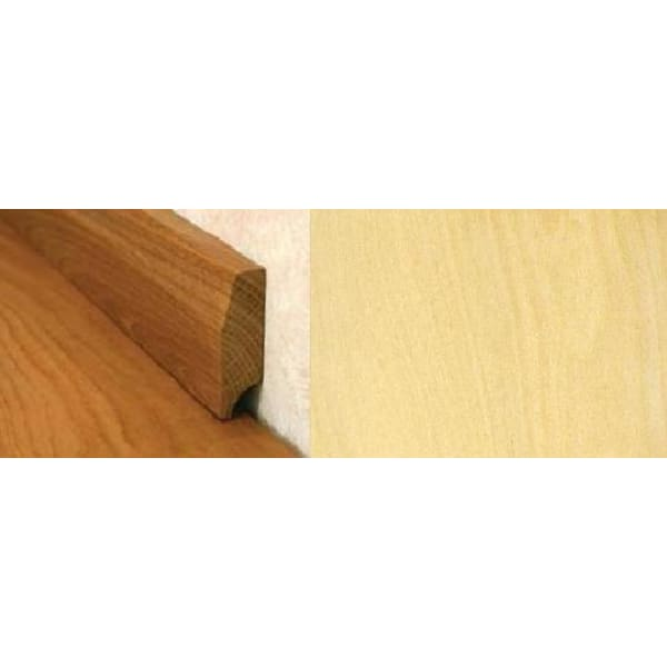 Maple Pencil Round Solid Hardwood Skirting 2.4m for Flooring