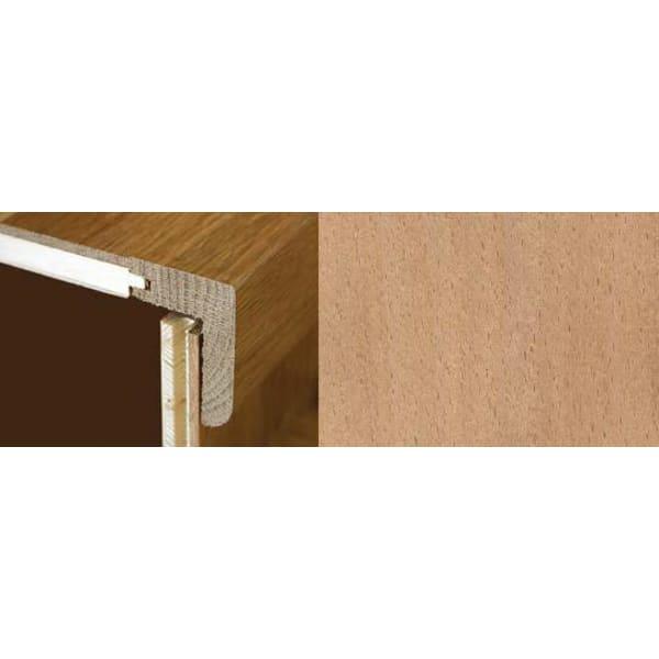 Beech Stair Nosing Profile Soild Hardwood 1m