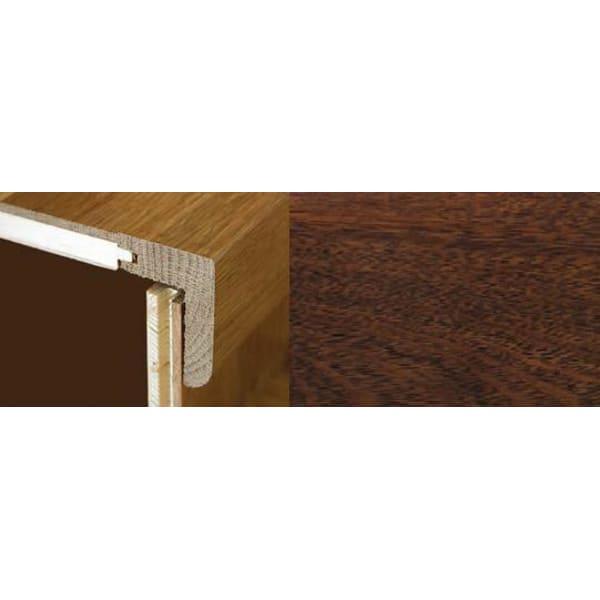 Merbau Stair Nosing Profile Soild Hardwood 2.4m