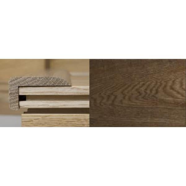 Smoked Oak Multi Stair Nosing Profile Soild Hardwood 2.4m