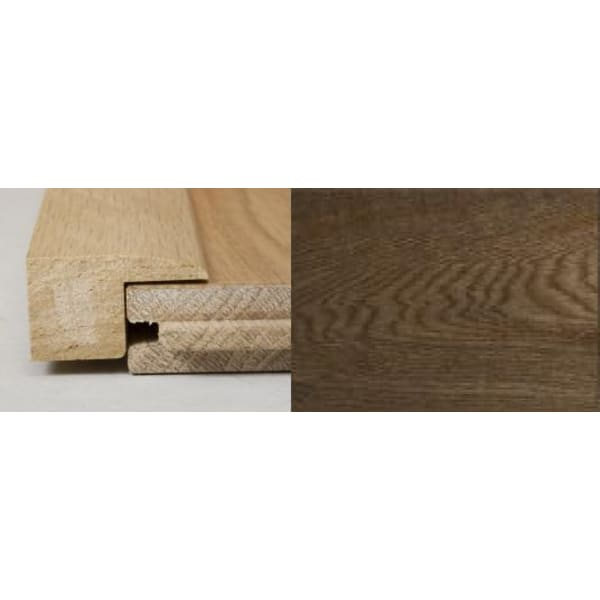 Smoked Oak Square Edge Soild Hardwood Flooring Profile 1m