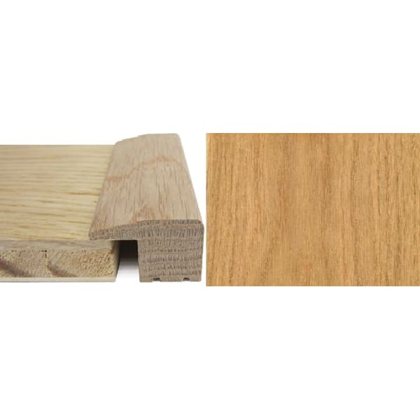 Oak Square Edge Soild Hardwood Flooring Profile 15mm 2.7m