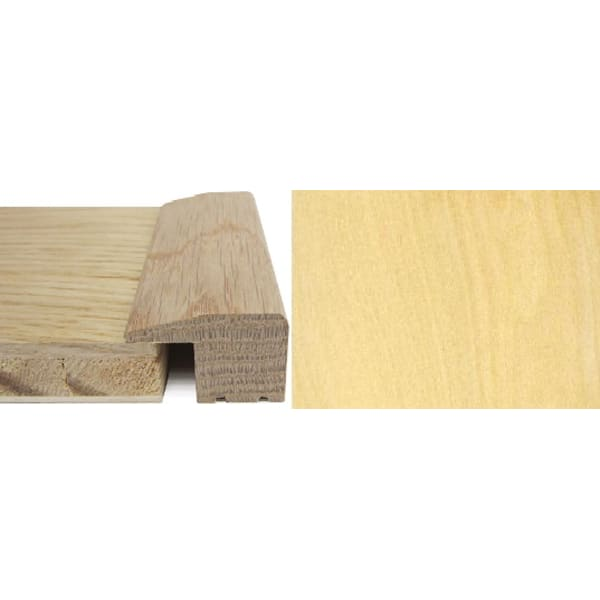 Maple Square Edge Soild Hardwood Flooring Profile 15mm 2.4m