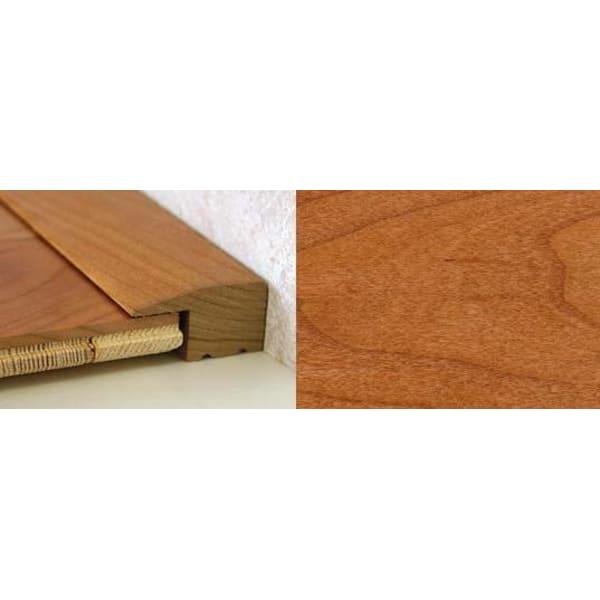 Cherry Square Edge Soild Hardwood Flooring Profile Solid Wood 15mm 2.44m