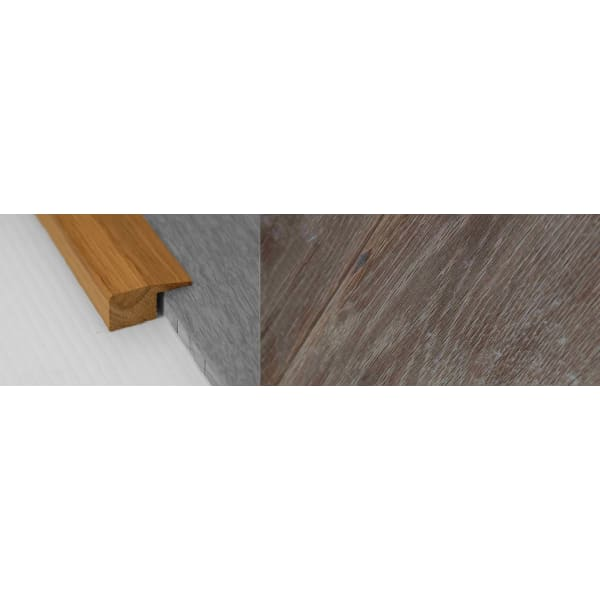 Fired Brick Stained Solid Oak Square Edge Flooring Profile 15mm 2.7m