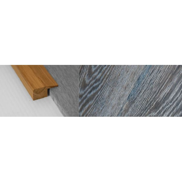 Grey Wharf Stained Solid Oak Square Edge Flooring Profile 15mm 2.7m