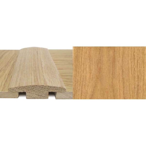 Oak T-Bar Profile Soild Hardwood 7mm Rebate 0.9m