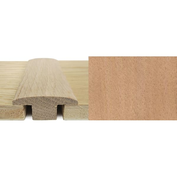 Beech T-Bar Profile Soild Hardwood 15mm Rebate 2.4m