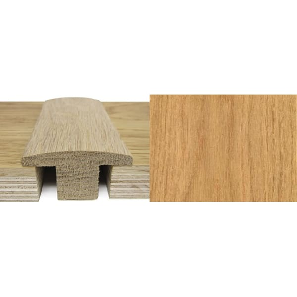 Oak T-Bar Profile Soild Hardwood 20mm Rebate 2.7m