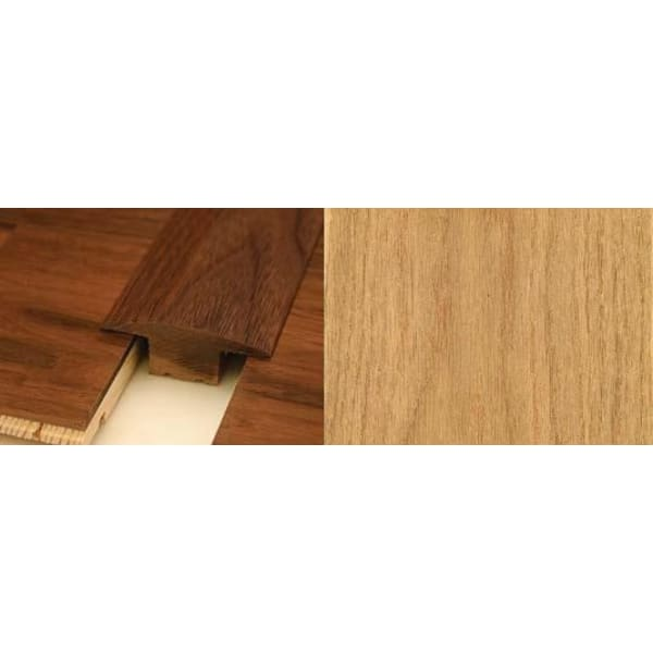 Oak T-Bar Profile Soild Hardwood 15mm Rebate 2.44m