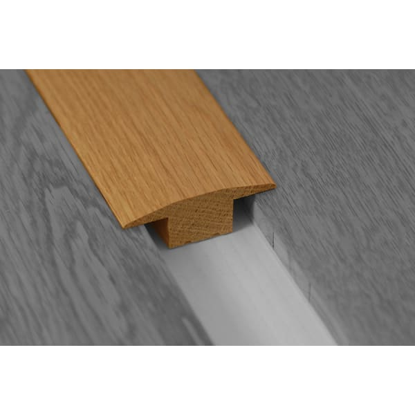Golden Rustic Solid Oak T-Bar Profile Soild Hardwood 18mm Rebate Solid 2.7m