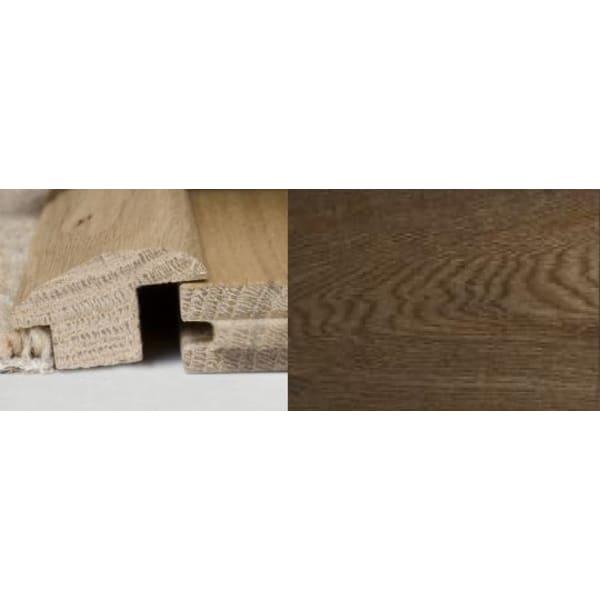 Smoked Oak Wood to Carpet Profile Soild Hardwood 2.4m