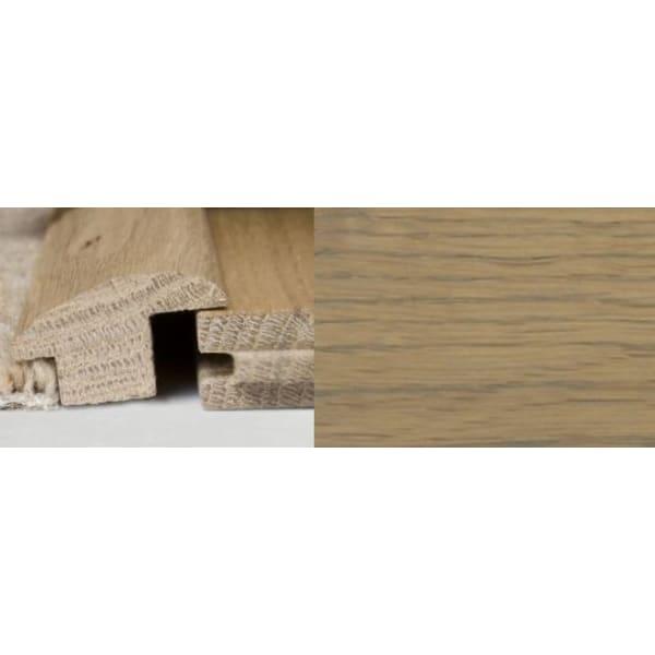 Grey Oak Wood to Carpet Profile Soild Hardwood 1m