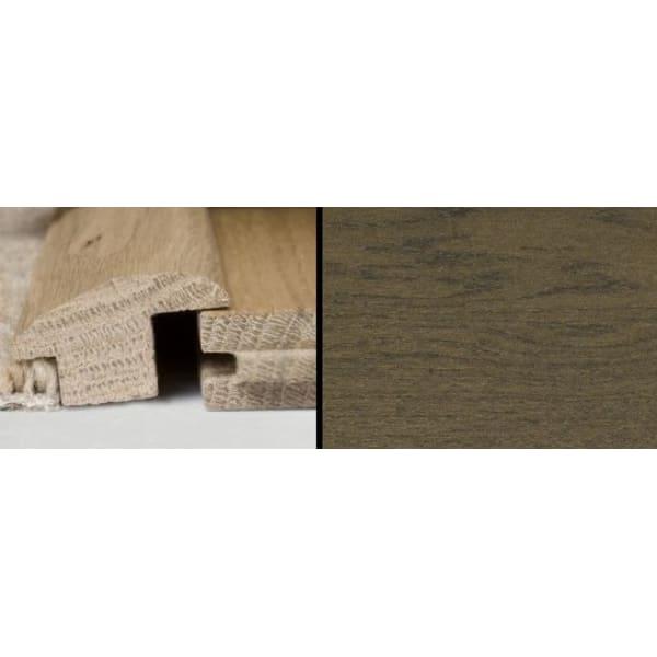 Coffee Oak Wood to Carpet Profile Solid Hardwood 2.4m