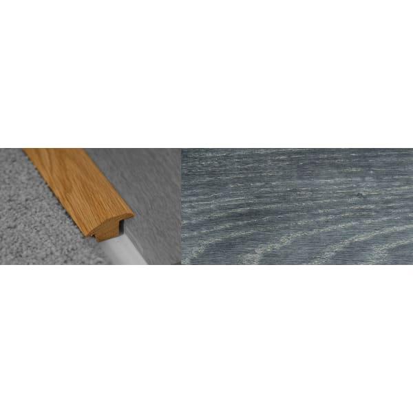 Midnight Mist Stained Wood to Carpet Profile Soild Hardwood 15mm Rebate 2.7m