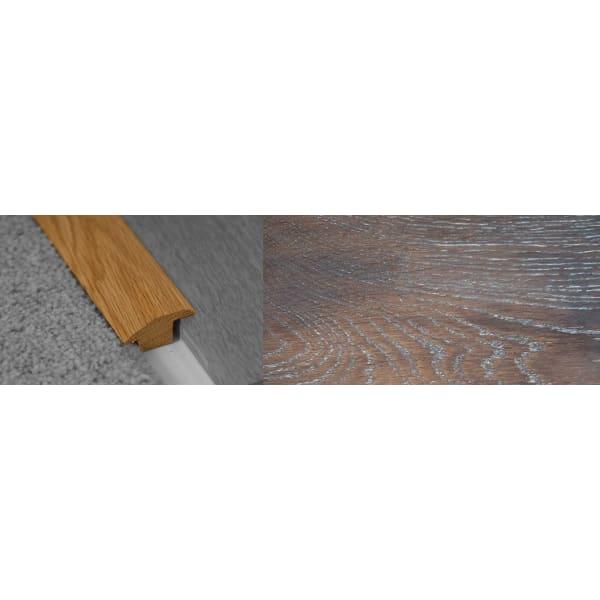Urban Sunset Stained Wood to Carpet Profile Soild Hardwood 15mm Rebate 2.7m