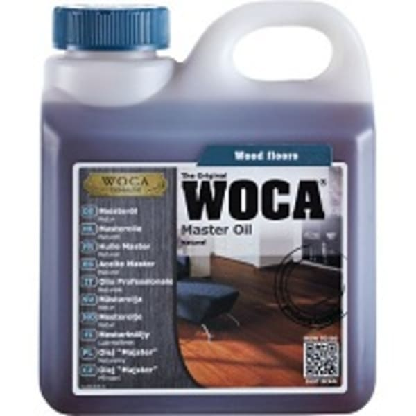 WOCA Master Wood Flooring Oil NATURAL 2.5L