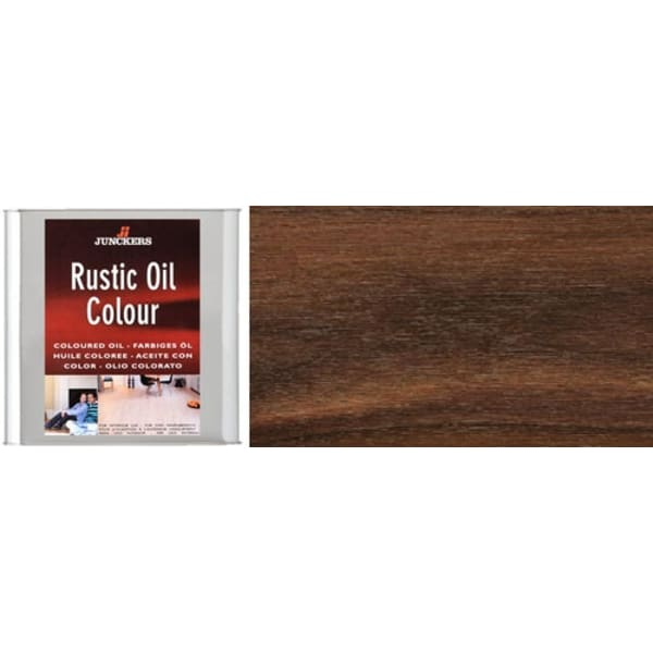 Junckers WALNUT Rustic Wood Flooring Coloured Oil 2.5L