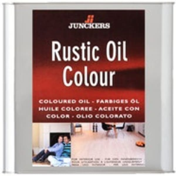 Junckers ANTHRACITE GREY Rustic Wood Flooring Coloured Oil 5.0L