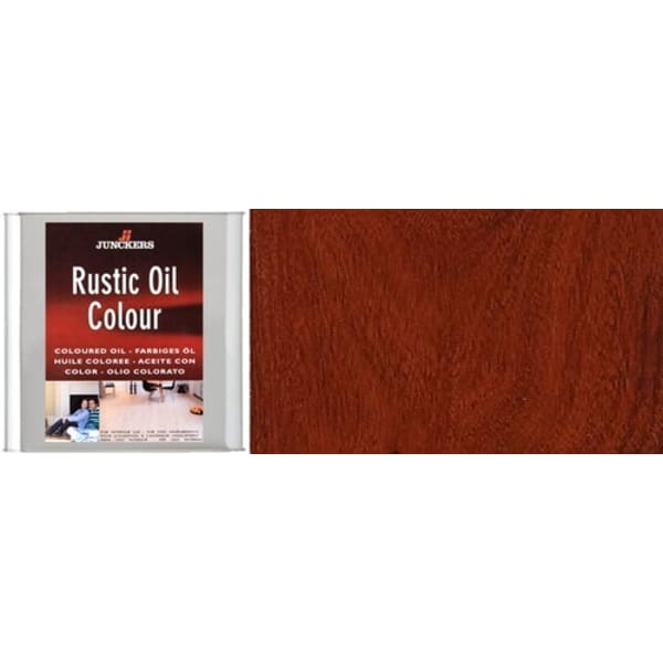 Junckers MAHOGANY Rustic Wood Flooring Coloured Oil 2.5L