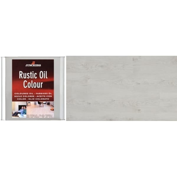 Junckers WHITE Rustic Wood Flooring Coloured Oil 2.5L
