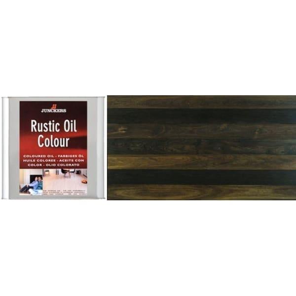 Junckers BLACK Rustic Wood Flooring Coloured Oil 2.5L
