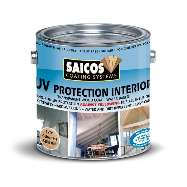 Saicos UV Protective Finish Satin Matt Wood Flooring Oil 2.5L