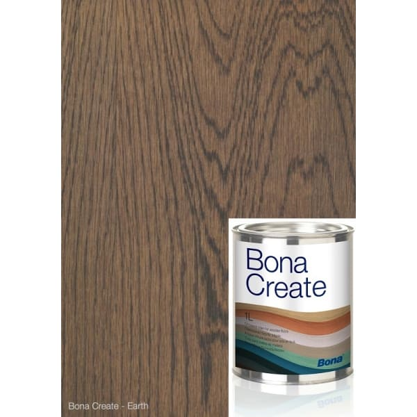Bona EARTH Wood Flooring Oil Base Stain (1L = 35m2 at 1 coat)