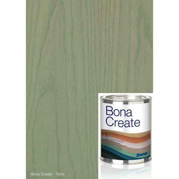Bona FLORA Wood Flooring Oil Base Stain (1L = 35m2 at 1 coat)