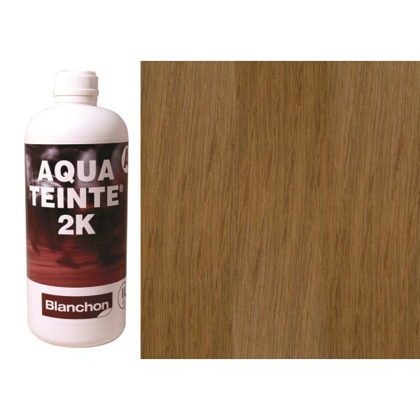 Blanchon Aquateinte 2K LIGHT OAK Wood Flooring Stain 1L