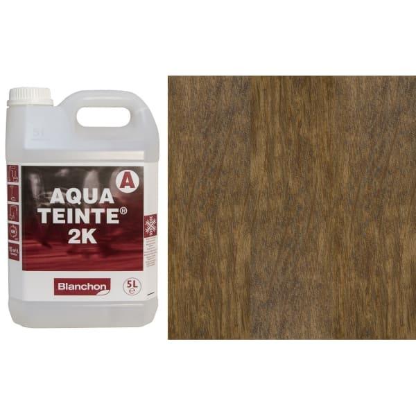 Blanchon Aquateinte 2K MEDIUM OAK Wood Flooring Stain 5L