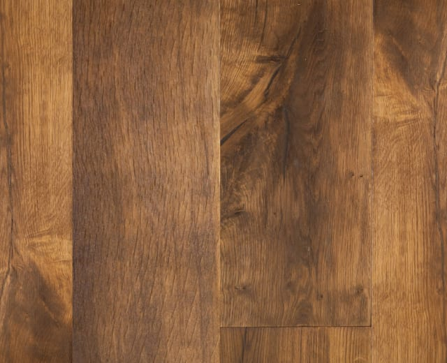 Oak Smoked Brushed Subtle Handscraped Oiled Engineered Hardwood Flooring