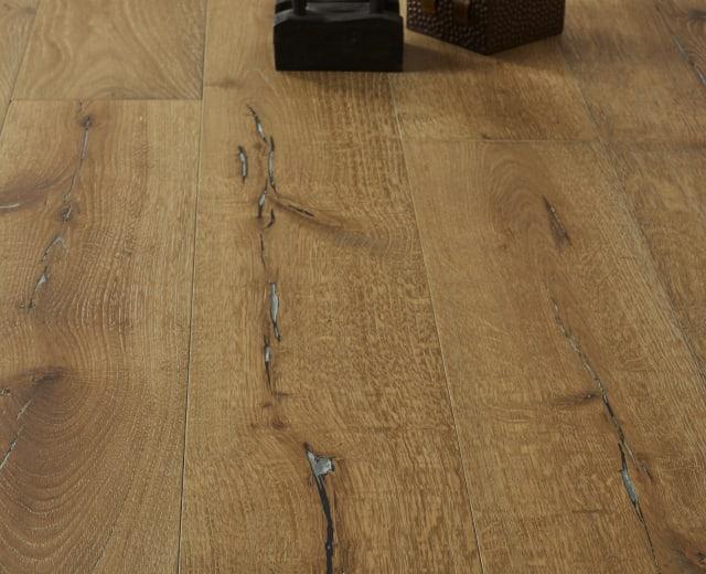 Lille Oak Smoked Limed White Oiled Hardwood Flooring
