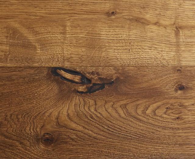 Montpellier Oak Smoked Brushed Hand-Scraped Oiled Hardwood Flooring