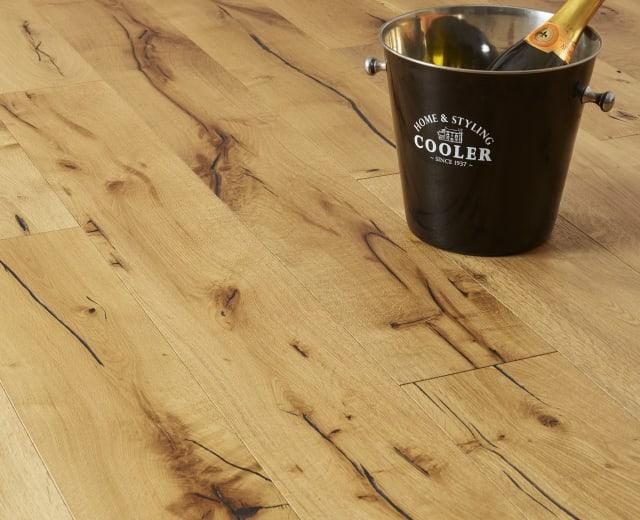 Rennes Oak Brushed Oiled Hardwood Flooring