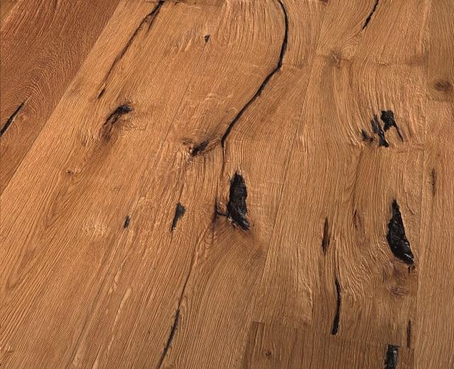 Nebraskan Oak Extra Rustic Brushed Natural Oiled Hardwood Engineered Wood Flooring
