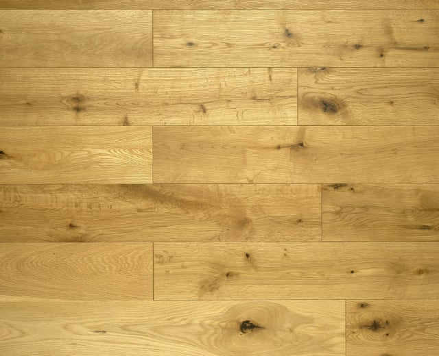 Oak Natural Brushed Oiled 14mm x 130mm Engineered Hardwood Flooring