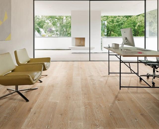 Workshop Oak Brushed Oiled Engineered Hardwood Flooring