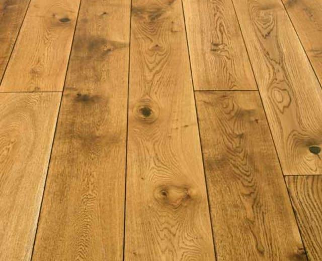 Black Washed Oak 20mm & UV Oiled Engineered Hardwood Flooring