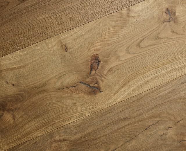 Nairn Oak Brushed Grey Smoke Dual-Width Engineered Hardwood Flooring