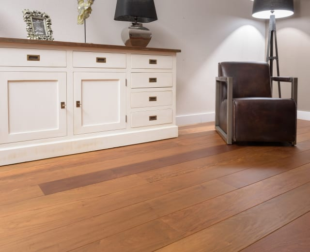 Tajibo / Ipe Lacquered Hardwood Flooring