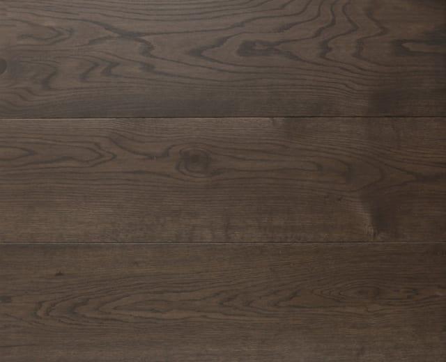 Indian Ebony LED Oiled Oak Wide Board Engineered Wood Flooring