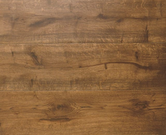 African Walnut Brown Oak LED Oiled Engineered Hardwood Flooring