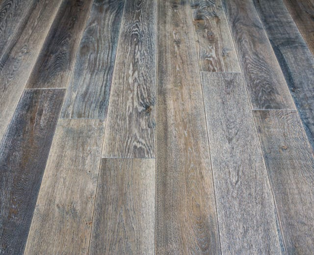 Harbour Grey Oak Brushed & UV Oiled Oak Engineered Hardwood Flooring