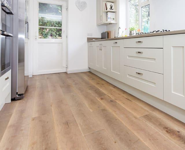 Brick Kiln Oak Distressed & UV Oiled Oak Engineered Wood Flooring