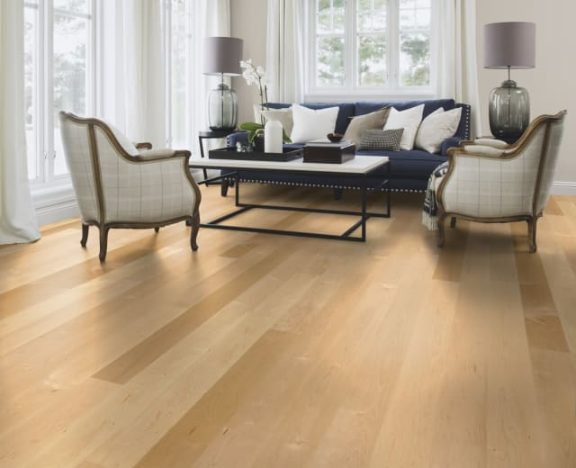 Maple 145mm (US-American) Select Engineered Lacquered Wood Flooring