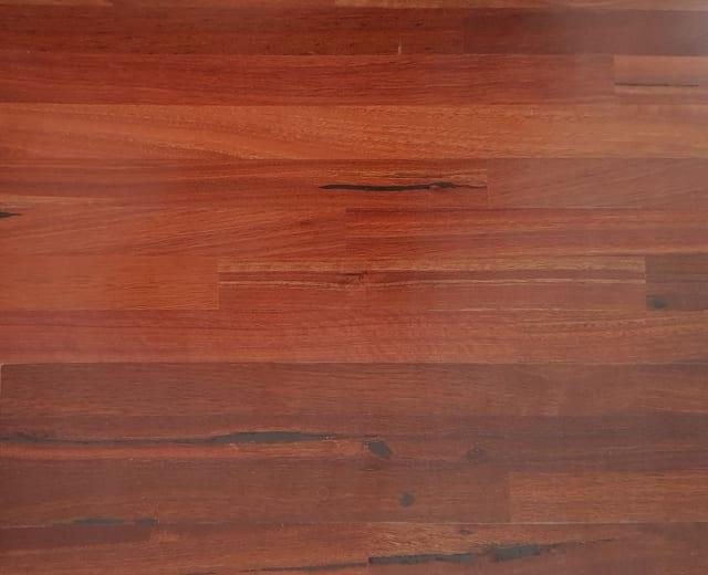 3 Strip Jarrah (Australian Mahogany) Engineered Hardwood